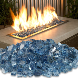 Fire Glass American Pacific Blue