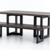 Judith dining table and bench
