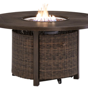 Paradise Trail Round Fire table