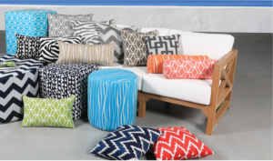 Toss Cushions Cabana Coast