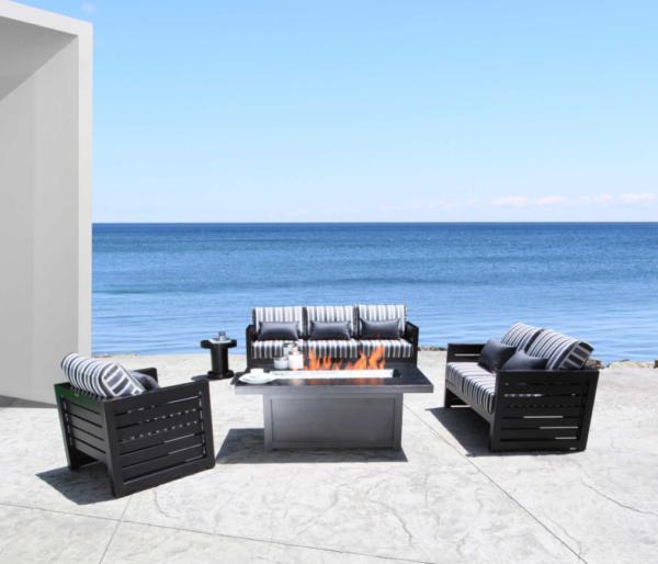 Venice 50″ x 32″ Rectangular Fire Table