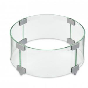 Round Glass Wind Guard