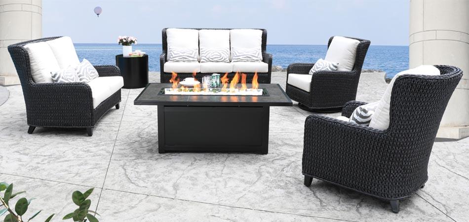 Patio Furniture - Feature Set - April 2021 - Hudson Full Set